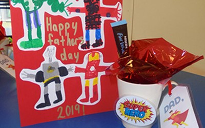 Fathers Day at Lollipops Pukekohe childcare